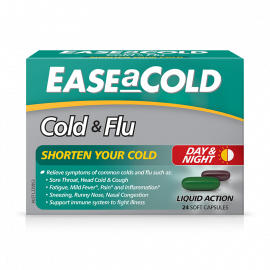 EaseACold Cold & Flu - Day & Night