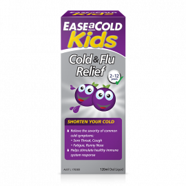 EaseACold Kids Cold & Flu Relief Liquid
