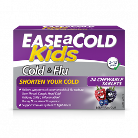 EaseACold Kids Cold & Flu Berry Chewable