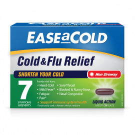 EASEaCOLD Cold & Flu Relief 18s