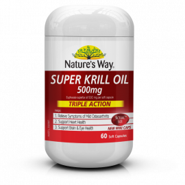 Nature's Way Super Krill Oil Extra Strength 60s
