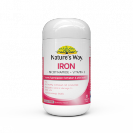 Nature's Way Iron + Nicotinamide + Vitamin C Chewable