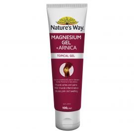 Nature's Way Magnesium Gel + Arnica 100g