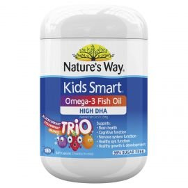 Nature's Way Kids Smart Omega-3 Fish Oil Trio 180s