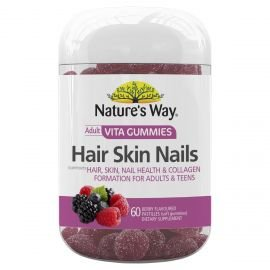Nature's Way Hair Skin Nails Adult VitaGummies 60s