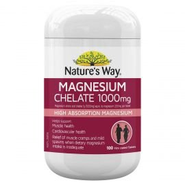 Nature's Way Magnesium Chelate 100mg 100s
