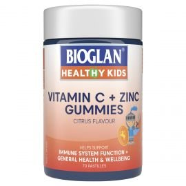 Bioglan healthy kids Vitamin c + zinc gummies