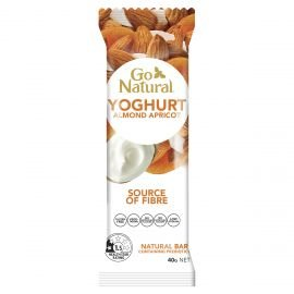Go Natural Yoghurt Almond Apricot 40g