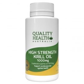 Quality Health Hight Strength Krill Oil 1000mg 60s