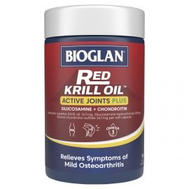 Bioglan Red Krill Oil Acive Joints Plus 90s