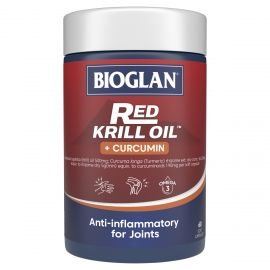 Bioglan Red Krill Oil Plus Curcumin