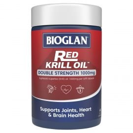 Bioglan Red Krill Oil Double Strength 1000mg 60s