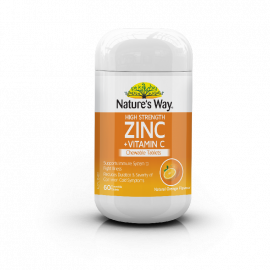 High Strength Zinc + Vitamin C Chewable