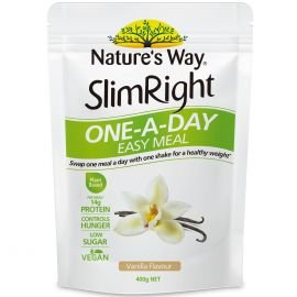 Slimright One-A-Day Shakes Vanilla 400g