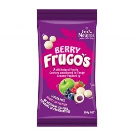 Go Natural Frugo's Berry 150g (Box of 8)