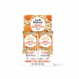 Go Natural Baked Muesli Apricot 90g (Box of 12)