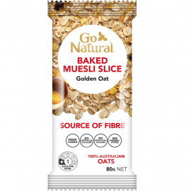 Go Natural Baked Muesli Golden Oat 90g (Box of 12)