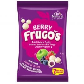 Go Natural Frugo's Berry 210g (Box of 8)
