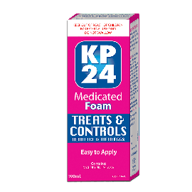 KP24 Medicated Foam 100mL