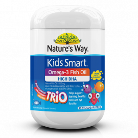 KIDS SMART BURSTLETS OMEGA-3 FISH OIL TRIO 180s