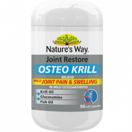 Nature's WAY JOINT RESTORE OSTEO KRILL 50s