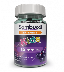 Sambucol Black Elderberry Immunity Kids Gummies 50 Pastilles