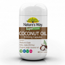 Nature's Way Superfoods Coconut Oil Tablets 60s