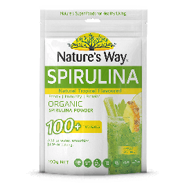 Nature's Way Super Spirulina tropical flavour
