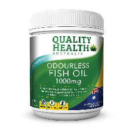 Quality Health Odourless Fish Oil 1000mg 400s