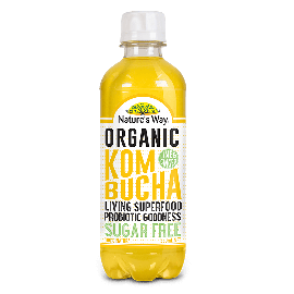 Nature's Way Kombucha Lime and Ginger