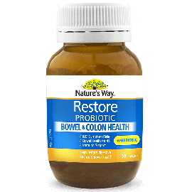 Nature's Way Restore Bowel & Colon Health 30s