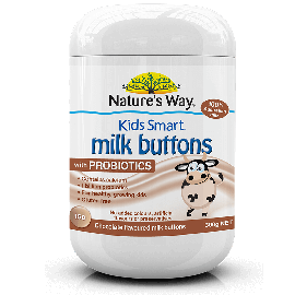 Kid's Smart Milk Buttons with DHA 150s