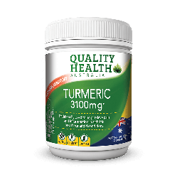 Quality Health Turmeric 3100mg with BioPerin