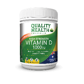 Quality Health Vitamin D 1000iu 300s