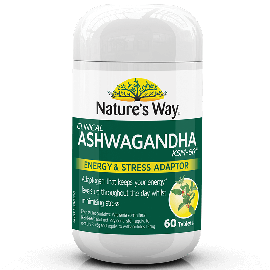 NATURE'S WAY ASHWAGANDHA 60s