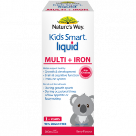 KIDS SMART MULTI + IRON LIQUID 200ML