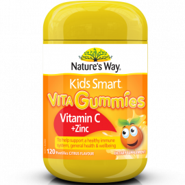 Nature's Way Kids Smart Vita Gummies Vitamin C + Zinc 120's