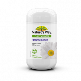 Nature's Way Plant Wisdom Sleep 60 Tablets