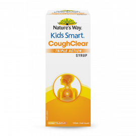 Nature's Way Kids Smart Cough Clear Triple Action Syrup 120mL
