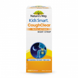 Kids Smart Cough Clear Triple Action Night Syrup