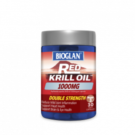 Bioglan Red Krill Oil Double Strength 1000mg 30s