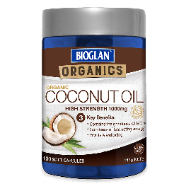 Bioglan Organics Coconut oil Tablets