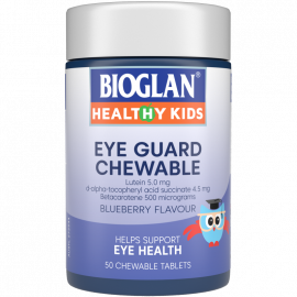 Bioglan Healthy Kids Eye Guard Chewable 50s
