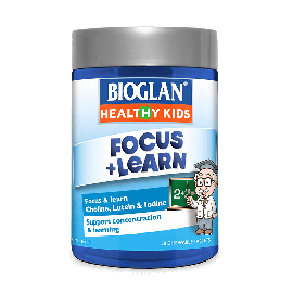 Bioglan Healthy Kids Focus & Learn Chewable 50s