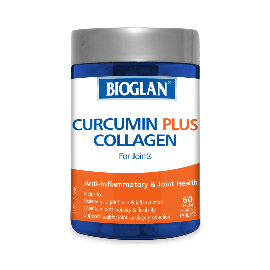 Bioglan Curcumin Plus Collagen for Joints 60s