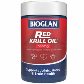 Bioglan Red Krill Oil Triple Action 500mg 120s