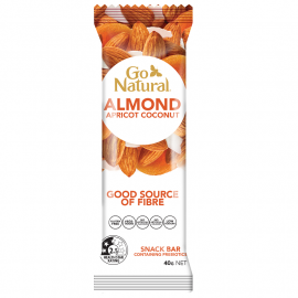 Go Natural Almond Apricot Coconut Box 175g