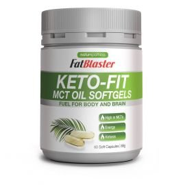 Keto-Fit MCT Oil Softgels 60 Capsules