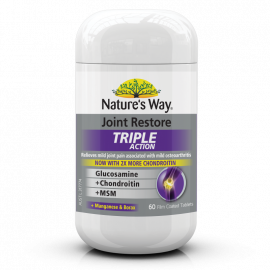 Nature's Way JOINT RESTORE TRIPLE ACTION 60s