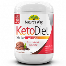 Nature's Way Keto Diet Shake Chocolate 300g